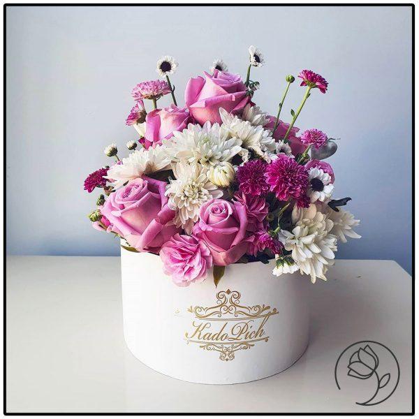 باکس گل رز و داوودی