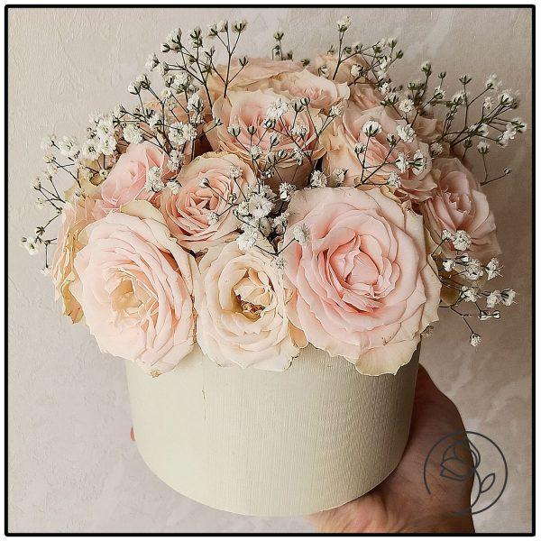 باکس گل رز و عروس